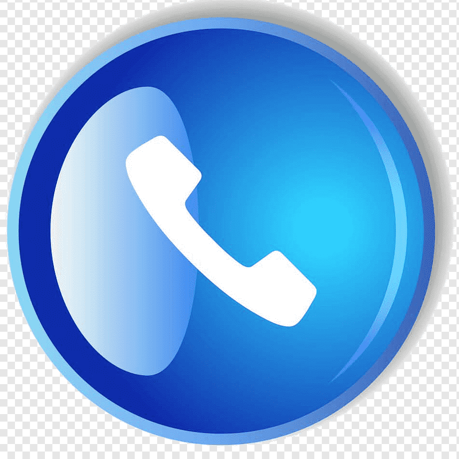 Call Button Blue